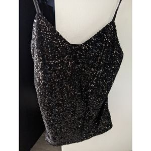 The Limited Sparkles Spaghetti Strap Top
